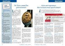 Le num ro 20 mars avril 2009 acheter les num ros d - Chambre des metiers auto entrepreneur ...