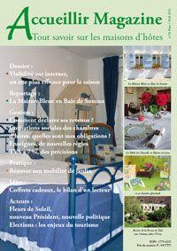le num ro 38 mars avril 2012 acheter les num ros d 39 accueillir magazine. Black Bedroom Furniture Sets. Home Design Ideas